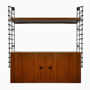 Mid-Century Teak String Shelf from Musterring International, 1960s