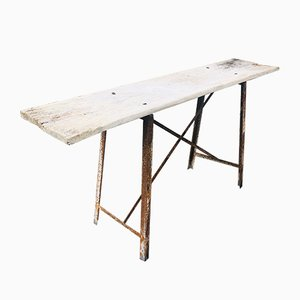 Vintage French Washing Table for Ironing, 1930s