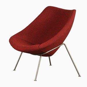 Vintage Dutch Model Oyster Lounge Chairby Pierre Paulin for Artifort, 1970s