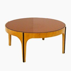 Table Basse Mid-Century Attribuée à Fontana Arte, 1950s