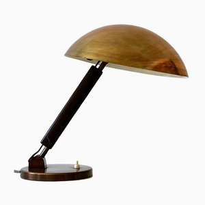 Brass Table or Desk Lamp by Karl Trabert for BAG Turgi, Switzerland, 1930s