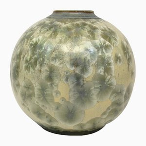 Art Deco Vase by Besson for Pierrefonds, 1920s