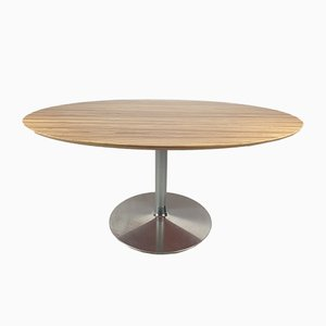 Oval Dining Table by Pierre Paulin for Artifort, 1980s
