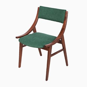 Polish Rosewood Ski Jumper Dining Chairs from Zamojska Furniture Factory, 1970s, Set of 4