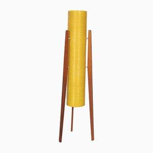 Mid-Century Yellow Rocket Floor Lamp from Novoplast, 1960s