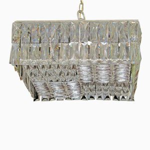 Austrian Crystal Ceiling Lamp from Bakalowits & Söhne, 1960s