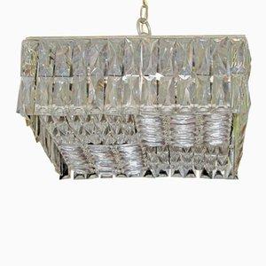 Österreichische Kristall Deckenlampe von Bakalowits & Söhne, 1960er