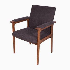 Oak Armchair from Berg Poulsen, 1970s