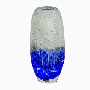 Czech Glass Vase by Jaroslav Svoboda for Skrdlovice/Beranek, 1960s
