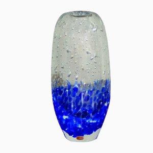 Czech Glass Vase by Jaroslav Svoboda for Skrdlovice/Beranek, 1960s