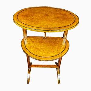 Guéridon du 19ème Siècle de Style Louis XVI en Thuya