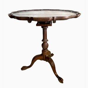 Antique Rosewood Tilt Top Side Table