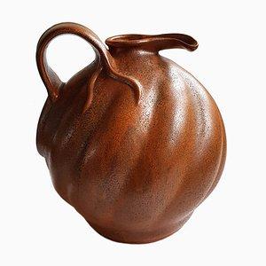 Art Nouveau Vase von Fons Decker für Plateelbakkerij Zuid-Holland