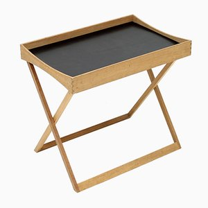 Folding Oak Tray Table by Torsten Johansson for Bo-Ex, 1960s