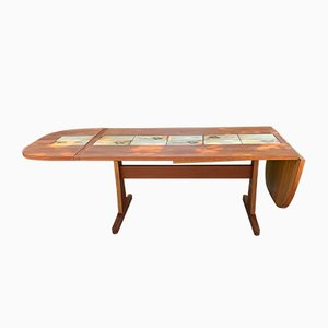 Tiled Top Dining Table from AM Moble, 1970s