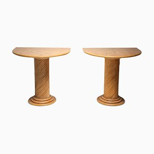 Tables Console par Vivai del Sud, 1970s, Set de 2