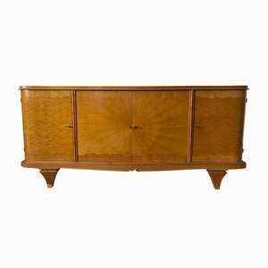 Art Deco Sideboard in Ash Veneer, 1930s