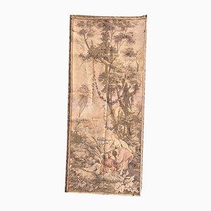 Antiker Französischer Jacquar Wandteppich