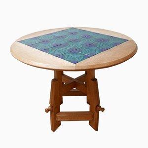 Tavolo da pranzo metamorfico di Guillerme et Chambron, anni '60