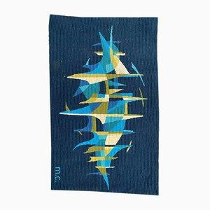 Vintage Modern Tapestry, 1960s