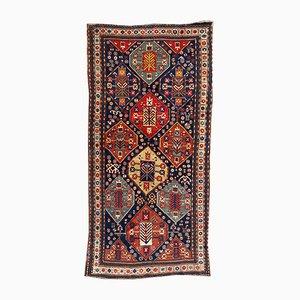 Antiker Kazak Läufer Teppich