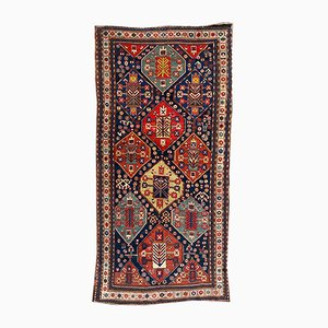 Antique Kazak Runner Rug