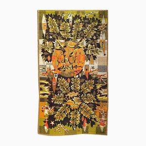 Moderner französischer Vintage Wandteppich von Jean Claude Bissery für Robert Four, 1960er