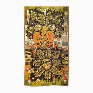 Vintage French Modern Tapestry by Jean Claude Bissery for Robert Four, 1960s
