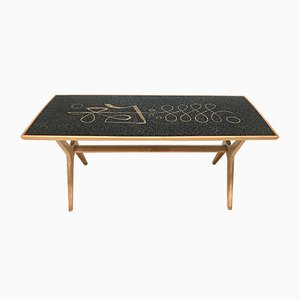 German Mosaic Coffee Table by Berthold Müller for Berthold Müller Mosaikwerkstätten, 1950s