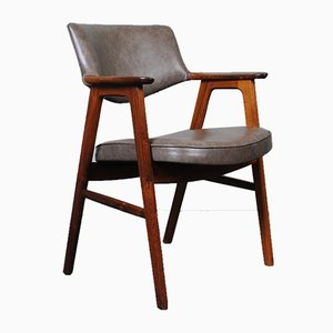 Rosewood Desk Chair by Erik Kirkegaard for Høng Stolefabrik, 1950s