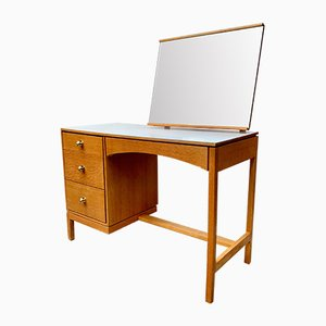 Vintage Dressing Table Desk with Mirror by Stag