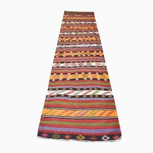 Türkisch Bestickter Vintage Wollteppich, 1950er