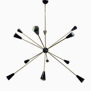 Sputnik Deckenlampe, 1950er