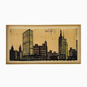 Mid-Century New York Cityscape by Bernard Buffet, 1958