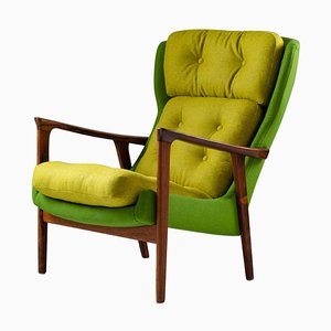 Mid-Century Scandinavian Rosewood Lounge Chair from Bröderna Andersson, 1960s