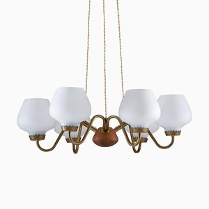 Mid-Century Swedish Model A4126 Pendant Lamp from ASEA, 1940s