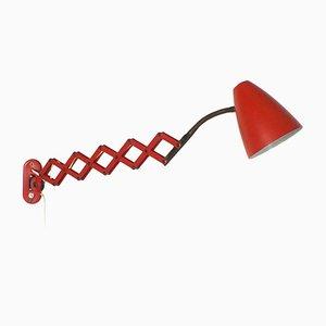 Lampe Ciseaux Rouge de Hala, 1960s
