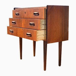 Teak Chest of Drawers in the Style of Arne Vodder, 1960s