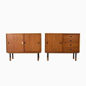 Teak Sideboards from Westbergs Möbler, 1950s, Set of 2