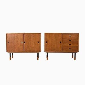Teak Sideboards von Westbergs Möbler, 1950er, 2er Set
