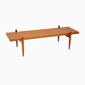 Danish Walnut & Elm Coffee Table, 1960s