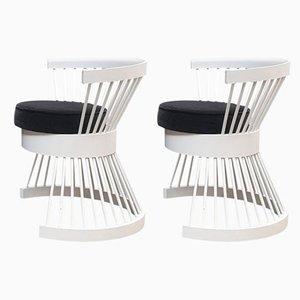 Mid-Century Armchairs by Horst Romanus Wanke, 1960s, Set of 2