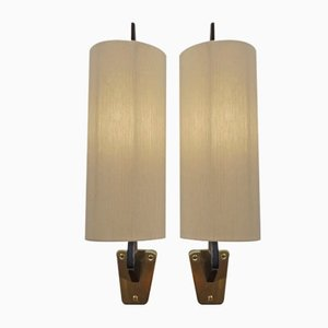 Vintage Italian Sconces, 1960s, Set of 2