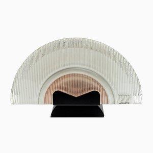 Italienische Vintage Deckenlampen aus Muranoglas von Stilkronen, 1990er, 2er Set
