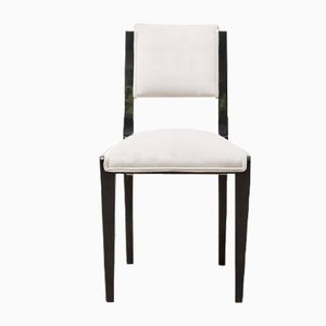 French Art Deco Dining Chairs, 1930s, Set of 6
