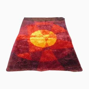 Space Age Pop-Art Teppich, 1970er