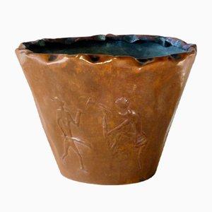 Italienische Mid-Century Vase aus Kupfer von Bragalini, 1950er