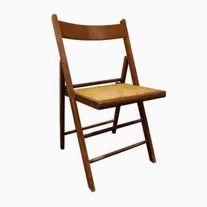 Vintage Rattan Folding Chair, 1960s