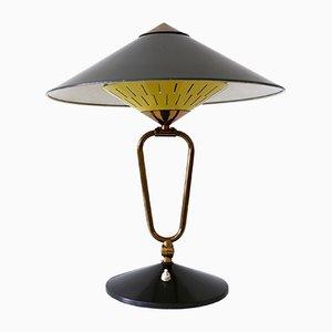 Große Mid-Century Gelenk Hexenhütte Tischlampe oder Wandlampe, 1950er