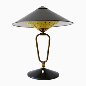 Large Mid-Century Modern Articulated Witch Hut Table Lamp or Wall Sconce, 1950s